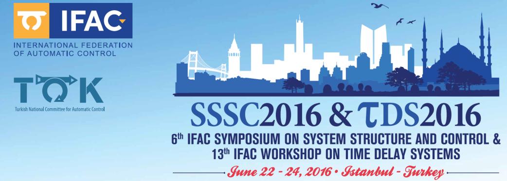 top sssc2016 IFAC SEMPOZYUM